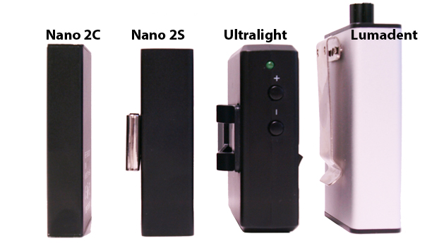 Battery Side View Comparisons